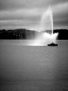 oriental bay fountain, wellington